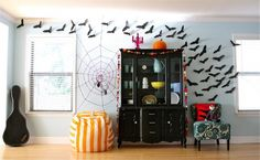 Excellent Ideas Of DIY Halloween Decorations: Spooky Spider Web And A Giant Spider!: Halloween Diy Spider Web ~ Manningmarable