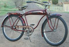 Vintage 1941 Hawthorne Comet Rat Rod