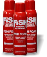 Fish Foam Glass Cleaner Review & Giveaway!