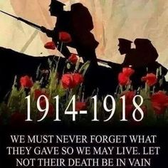 Lest we Forget                                                                                                                                                     More