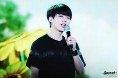 150727 #인피니트 Woohyun - MBC Music Core Ulsan Summer Festival