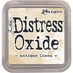 Tim Holtz Distress Oxide Worn Lipstick Ink Pigment fusion ink and dye to obtain unique qualities.Designed by Tim Holtz, water reactive, ideal for combining and working with our regular distress ink.This new Oxide colour set is dim and covers a lot of Tim Holtz Distress Ink, Ranger Ink, Distress Oxide Ink, Broken China, Tampons, Crepe Paper, Marmalade, Ink Pads, Pigment Ink