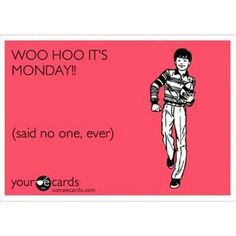 It's Monday...already!?
