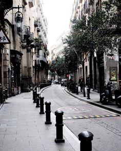 Barcelona, Street, Instagram Posts, Barcelona Spain, Walkway