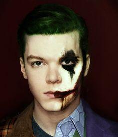 Jerome Valeska (Gotham) is mine. My Joker. I'm his Harley. Gotham Joker, Joker And Harley Quinn, Jerome Gotham, Gotham City, Gotham Tv Series, Dc Comics, Le Clown, Cameron Monaghan, Held