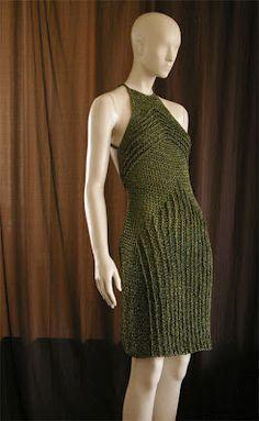 crochetmestres crochetmes3: Vestido con relieves. 4 Soley