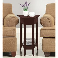 End Table - Brown