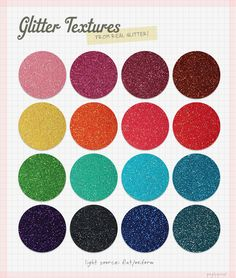 Glitter textures photographed from genuine glitters #free #texture #glitter