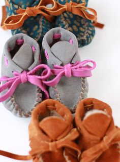 Baby Moccasins from Fashion Loves People ($50)