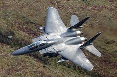 https://flic.kr/p/LZqjvQ   F-15E Strike Eagle, 492nd FS, 48th FW   LFA7, BWLCH Top Shelf, Machynlleth, North Wales