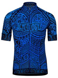 """""""One Tribe"""" men's cycling jersey from Cycology."""