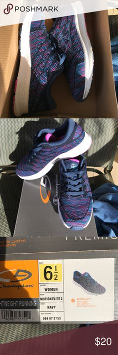 Target 'Champion' multicolored sneakersWomen's 6.5 Only worn once. Tags still in box. Extremely comfortable for running and/or walking. Women's 6.5 Champion Shoes Sneakers