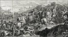 Alexander and his army crossing of the Granicus