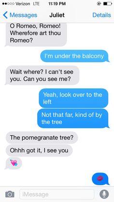 Romeo and Juliet: The iPhone Years, Part II   FifteenEightyFour   Cambridge University Press