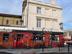 Tiger, Homerton • whatpub.com East London, London City, Keg Tap, Cosy Sofa, London Fields, Aberystwyth, Local Pubs, Wooden Windows, Casement Windows