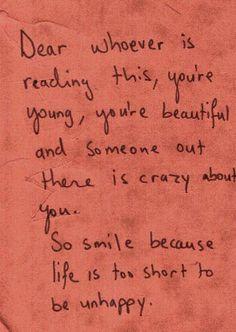 you're beautiful     you're beautiful