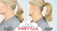 How To Pimp Up Your Ponytail!