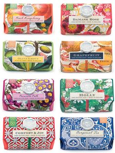 Michael Design Works soaps, time to lather up #packaging PD