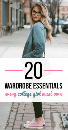 Before you start packing up your closet for the semester, you should make sure you've got all of the wardrobe essentials you will need!