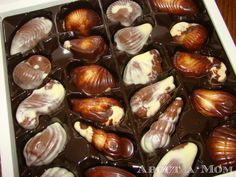 Guylian Chocolates - These used to be my favorites as a kid! Never knew what they were called =)
