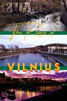Follow the rivers of the Lithuanian capital of Vilnius to its old town and walk into history. #historic #oldtown #baltic #lithuania #vilnius #budget #budgettravel #travel