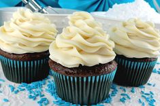 This is THE Best Buttercream Frosting recipe and the only one we use. It is easy to make and anything you put it on will taste better. Chocolate Sugar Cookie Recipe, Best Sugar Cookie Recipe, Best Sugar Cookies, Yummy Cookies, Cookie Recipes, Dessert Recipes, Desserts, Delicious Cupcakes, Baking Recipes