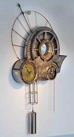 Tim Wetherell's Clockwork Universe sculpture at Questacon, Canberra, Australia (September 24, 2009)