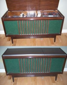 National Panasonic Stereo Console - we had something like this...