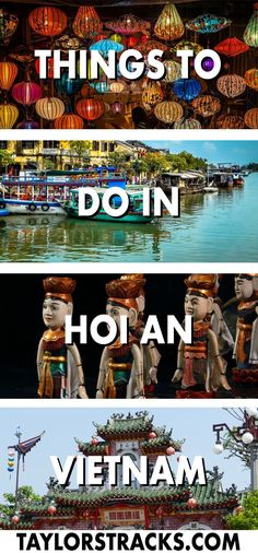 Find the best things to do in Hoi An, Vietnam to help you create the ideal itinerary for 1-4 days in this charming and historical town. ***************************************** Vietnam travel | Vietnam backpacking | Vietnam beaches | Vietnam destinations