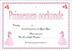 prinsessendiploma Disney Princess Party, Princess Birthday, Kids Party Games, Games For Kids, Tangled Birthday Party, Birthday Parties, Frozen Party, Unicorn Party, Party Themes