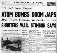 In the United States, the bombing was hailed as a triumph. | The U.S. Dropped The Atomic Bomb On Hiroshima 70 Years Ago