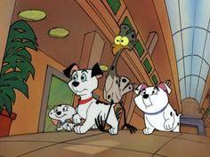 101 kiskutya Dalmatians: The Series) Amerikai televíziós rajzfilmsorozat részes) 101 Dalmatians The Series, 101 Dalmatians Movie, 101 Dalmatians Cartoon, Classic Cartoon Characters, Cartoon Tv Shows, Classic Cartoons, Tv Show Family, Family Guy, 90s Cartoons