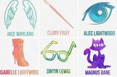 Image de clary fray, simon lewis, and isabelle lightwood