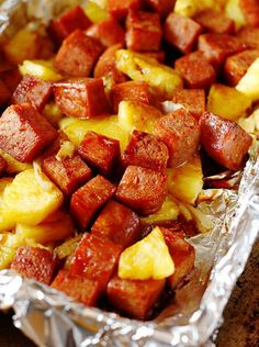 Baked Spam and Pineapple in Teriyaki Sauce | 14 Tasty Spam Recipes That Will Make You Love Spam