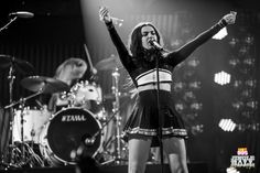 Charli XCX onstage during HOT 99.5's Jingle Ball 2014 at Verizon Center on December 15, 2014 in Washington, DC. (Photo: Brian Friedman for iHeartRadio)