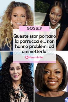 Sapevi che molte star del cinema indossano la parrucca? Scopri quali sono! Gossip, Fitness, Cinema, Stars, News, Tips, Movies, Films, Sterne