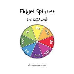 Fidget Spinner spilleplade - De 120 ord