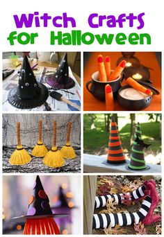 Witch Crafts for Halloween - Fun Family Crafts