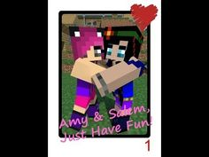 Amy Lee 33 Minecraft | Amy and Salem, Just have Fun! ♥ [1] Blocks will be Blocks. ♥