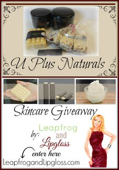 U Plus Naturals Skincare Review and #Giveaway