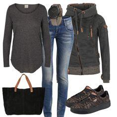 Freizeit Outfits: Herbstgefluester bei FrauenOutfits.de