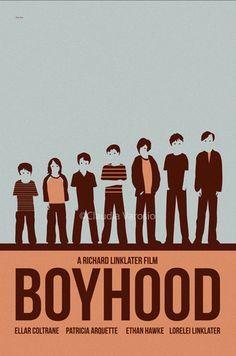Movie poster Boyhood by ClaudiaVarosio