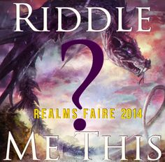 Realms Faire's Riddle Me This #giveaway