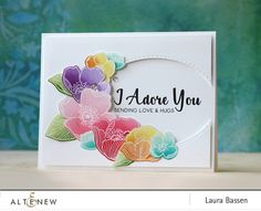 Laura Bassen: Altenew - November 2016 Release Blog Hop | Adore You stamp set