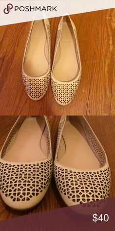 J crew flats size 9.5 Worn a couple of times but still in great condition! J. Crew Shoes Flats & Loafers