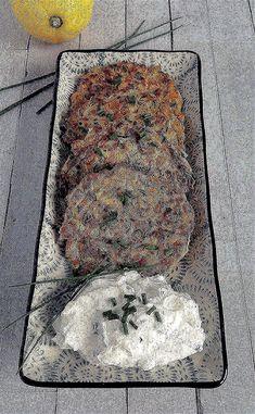 Möhren-Zucchini Puffer Zucchini Puffer, City Photo, Potato Pancakes