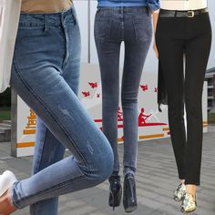 Find More   Information about New Fashion Women Korean Designer Brand Leggings 2014 Spring Summer Elastic Slim Jeans Skinny Pencil Pants Denim Trousers NZ001,High Quality  ,China   Suppliers, Cheap   from Minabell Fashion Store on Aliexpress.com