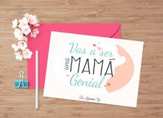 Baby Shower, Place Cards, Place Card Holders, Messages, Mom, Ideas, Scrapbooks, Gifts For My Boyfriend, Happy Mothers Day