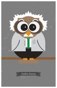 Famous Owls by Will Smith, via Behance