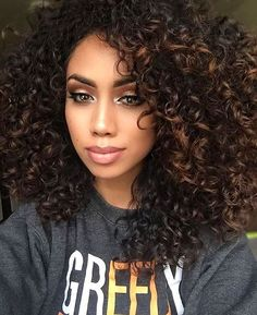 Hairstyles For Curly Hair Classy 20 Trendy Hairstyles For Curly Hair  Pinterest  Long Curly